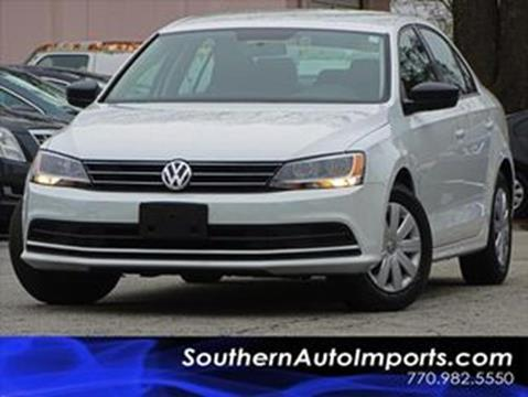 2015 Volkswagen Jetta for sale at Used Imports Auto - Southern Auto Imports in Stone Mountain GA