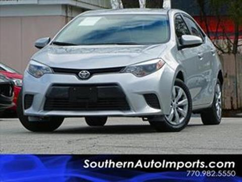 2016 Toyota Corolla for sale at Used Imports Auto - Southern Auto Imports in Stone Mountain GA