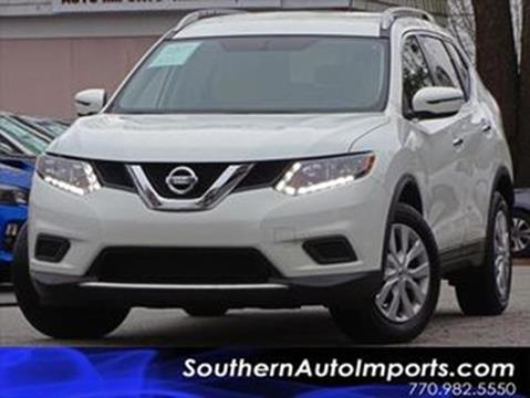 2016 Nissan Rogue for sale at Used Imports Auto - Southern Auto Imports in Stone Mountain GA