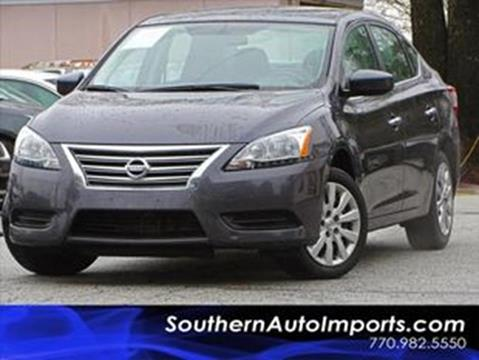 2015 Nissan Sentra for sale at Used Imports Auto - Southern Auto Imports in Stone Mountain GA