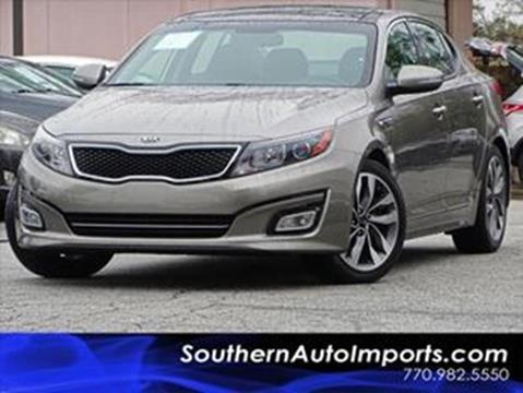 2015 Kia Optima for sale at Used Imports Auto - Southern Auto Imports in Stone Mountain GA