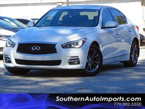 2017 Infiniti Q50 for sale at Used Imports Auto - Southern Auto Imports in Stone Mountain GA