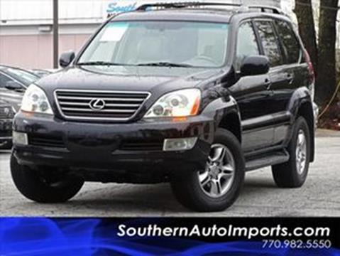 2007 Lexus GX 470 for sale at Used Imports Auto - Southern Auto Imports in Stone Mountain GA