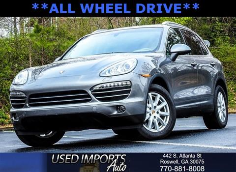 2013 Porsche Cayenne for sale in Roswell, GA