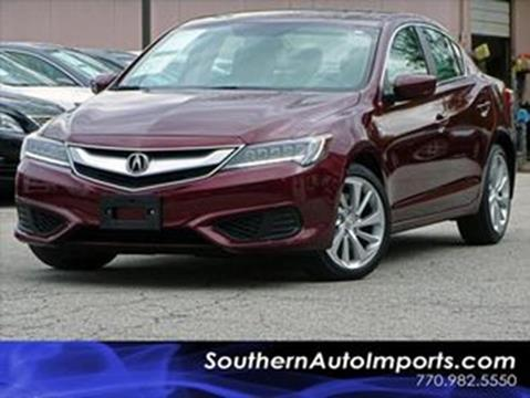 2016 Acura ILX for sale at Used Imports Auto - Southern Auto Imports in Stone Mountain GA