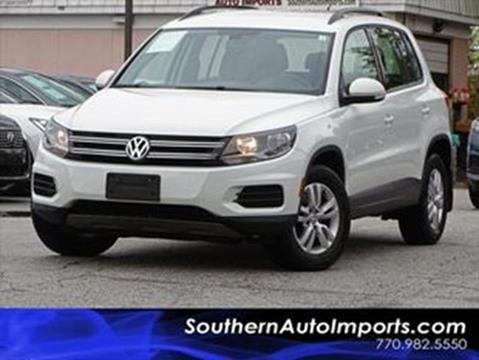 2016 Volkswagen Tiguan for sale at Used Imports Auto - Southern Auto Imports in Stone Mountain GA