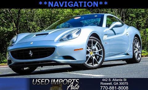 2011 Ferrari California for sale in Roswell, GA