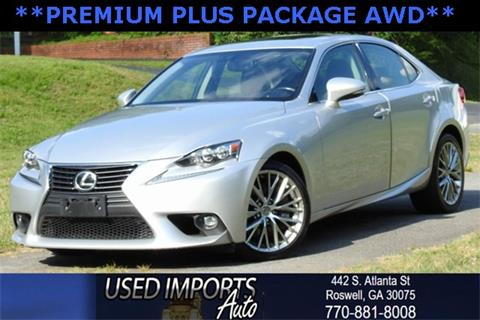 2016 Lexus IS 300 for sale in Roswell, GA