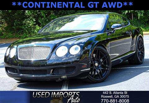 2005 Bentley Continental for sale in Roswell, GA