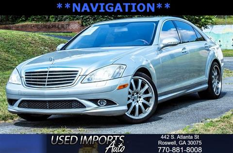 used 2007 mercedes benz s class for sale carsforsale com®2007 mercedes benz s class for sale in roswell, ga