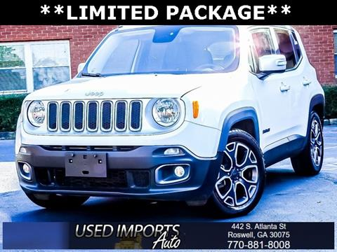 2016 Jeep Renegade for sale in Roswell, GA