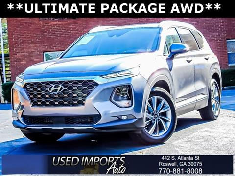2019 Hyundai Santa Fe for sale in Roswell, GA
