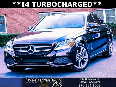 2018 Mercedes-Benz C-Class for sale in Roswell, GA