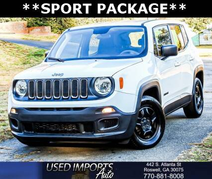 2018 Jeep Renegade for sale in Roswell, GA