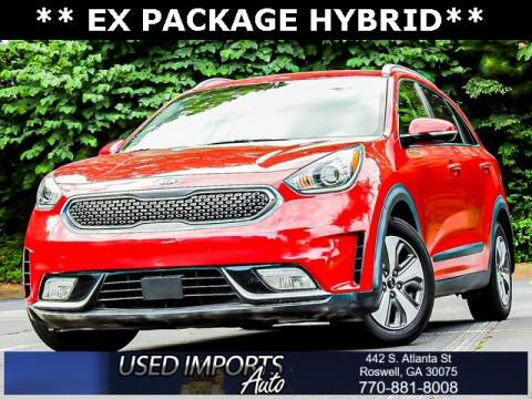 2018 Kia Niro for sale at Used Imports Auto in Roswell GA