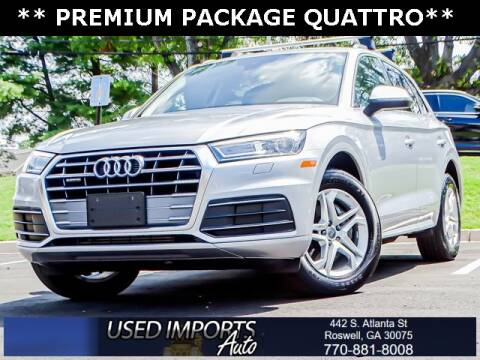 2019 Audi Q5 for sale at Used Imports Auto in Roswell GA