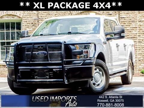 2017 Ford F-150 for sale at Used Imports Auto in Roswell GA