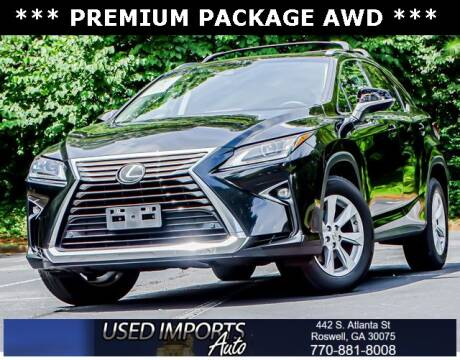 2017 Lexus RX 350 for sale at Used Imports Auto in Roswell GA