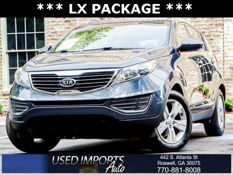 2011 Kia Sportage for sale at Used Imports Auto in Roswell GA