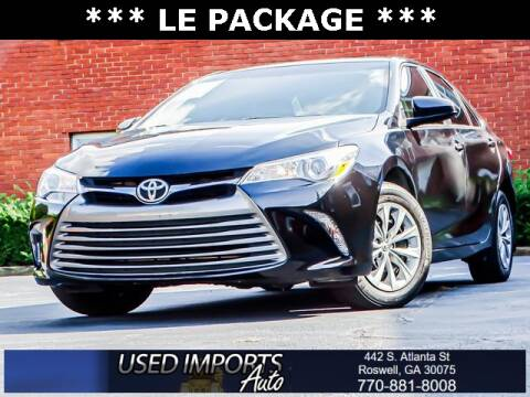 2017 Toyota Camry for sale at Used Imports Auto in Roswell GA