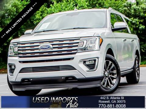 2019 Ford Expedition MAX for sale at Used Imports Auto in Roswell GA