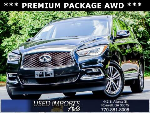 2018 Infiniti QX60 for sale at Used Imports Auto in Roswell GA