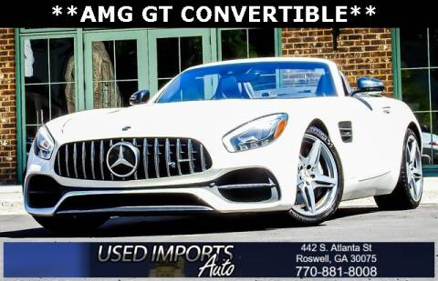 2019 Mercedes-Benz AMG GT for sale at Used Imports Auto in Roswell GA