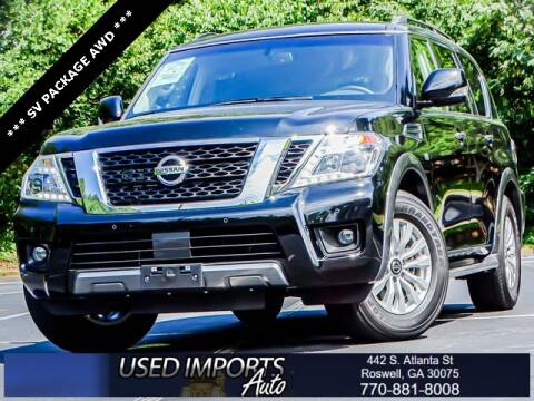 2020 Nissan Armada for sale at Used Imports Auto in Roswell GA