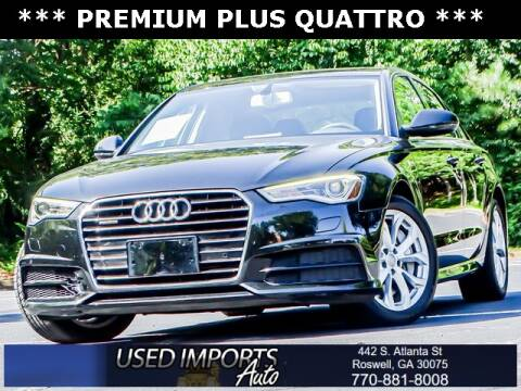 2017 Audi A6 for sale at Used Imports Auto in Roswell GA