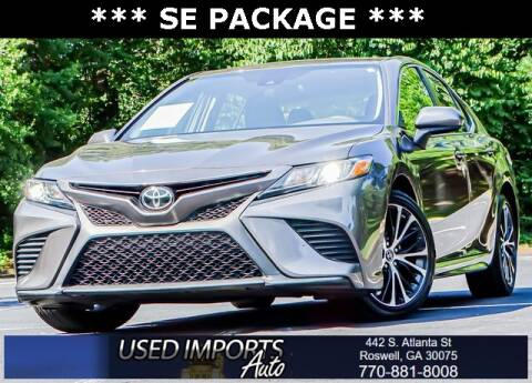 2019 Toyota Camry for sale at Used Imports Auto in Roswell GA