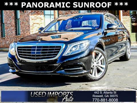 2017 Mercedes-Benz S-Class for sale at Used Imports Auto in Roswell GA