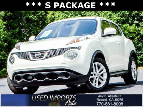 2012 Nissan JUKE for sale at Used Imports Auto in Roswell GA