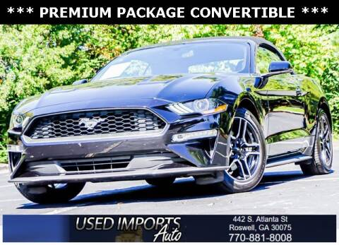 2020 Ford Mustang for sale at Used Imports Auto in Roswell GA