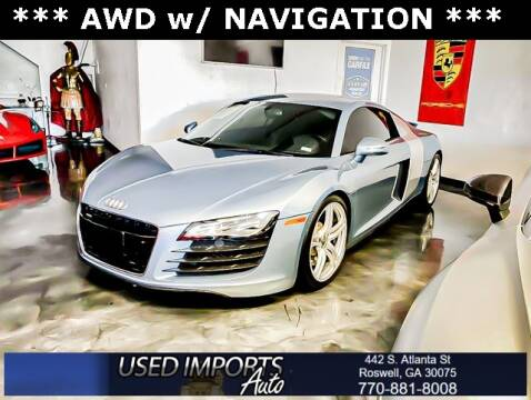 2009 Audi R8 for sale at Used Imports Auto in Roswell GA