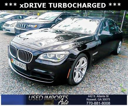 2015 BMW 7 Series for sale at Used Imports Auto in Roswell GA