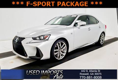 2017 Lexus IS 200t for sale at Used Imports Auto in Roswell GA