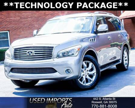 2012 Infiniti QX56 for sale at Used Imports Auto in Roswell GA