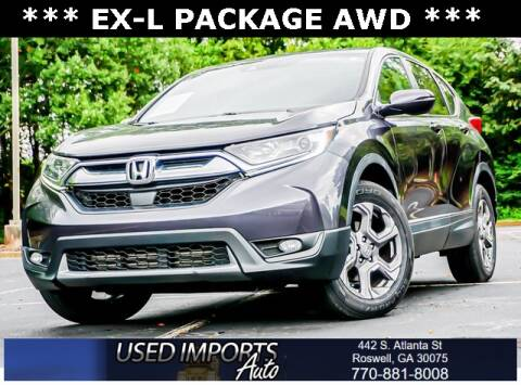 2017 Honda CR-V for sale at Used Imports Auto in Roswell GA