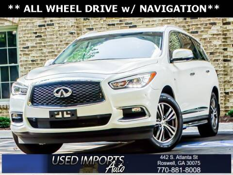 2016 Infiniti QX60 for sale at Used Imports Auto in Roswell GA