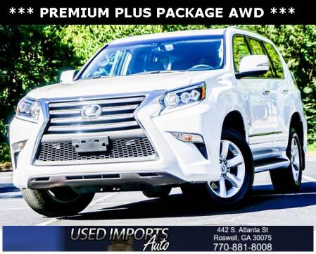 2016 Lexus GX 460 for sale at Used Imports Auto in Roswell GA