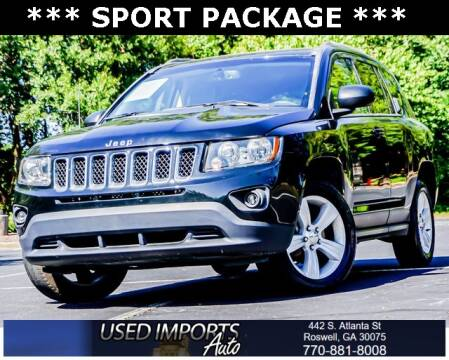 2017 Jeep Compass for sale at Used Imports Auto in Roswell GA