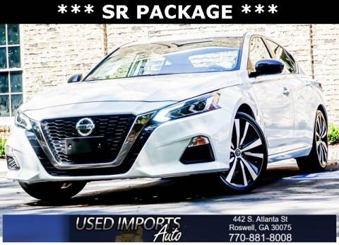 2019 Nissan Altima for sale at Used Imports Auto in Roswell GA