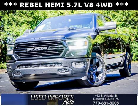 2019 RAM Ram Pickup 1500 for sale at Used Imports Auto in Roswell GA