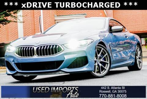 2019 BMW 8 Series for sale at Used Imports Auto in Roswell GA