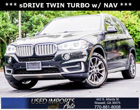 2017 BMW X5 for sale at Used Imports Auto in Roswell GA
