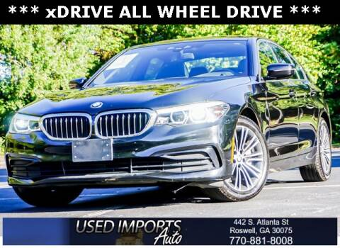 2019 BMW 5 Series for sale at Used Imports Auto in Roswell GA
