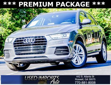 2017 Audi Q3 for sale at Used Imports Auto in Roswell GA