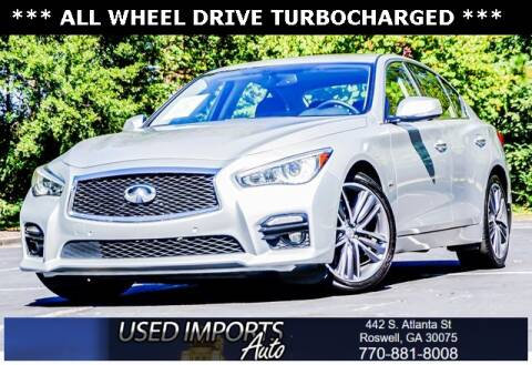 2017 Infiniti Q50 for sale at Used Imports Auto in Roswell GA