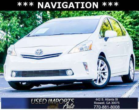 2014 Toyota Prius v for sale at Used Imports Auto in Roswell GA