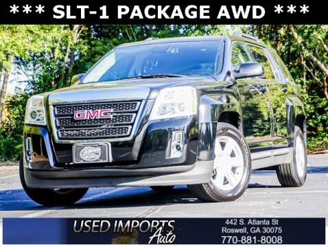 2013 GMC Terrain for sale at Used Imports Auto in Roswell GA